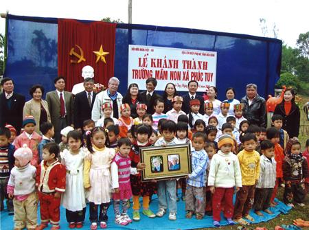 Das Gruppenfoto bei der Eröffnungsfeier