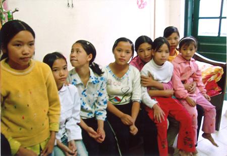 Weisenhaus Bắc Kạn, Mädchengruppe