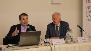 Dr. Alfred Gerstl und Dr. Helmut Kramer, Foto: Hoa Vu